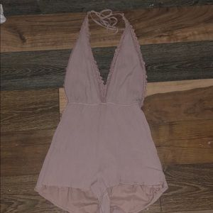 Halter romper from pacsun